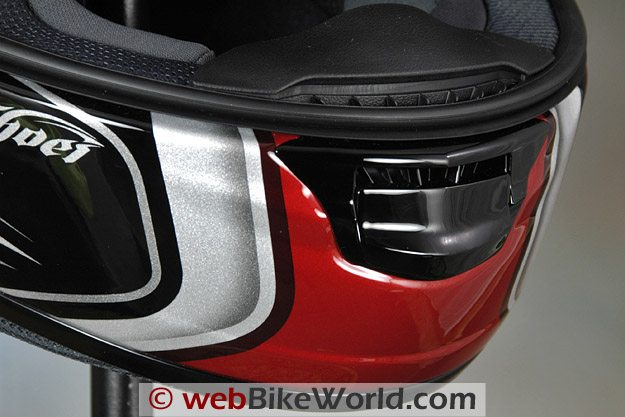Shoei X-12 (X-Twelve) Helmet - Chin Vent