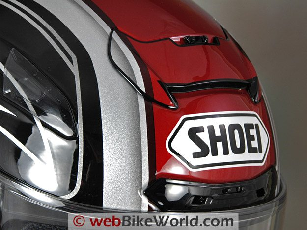 Shoei X-12 (X-Twelve) Helmet - Top Vents