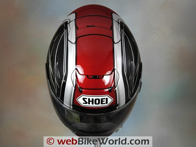Shoei X-12 (X-Twelve) Helmet - Top View