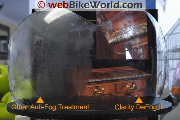 Clarity Defog It Compared to Other Anti-Fog Treatment Product