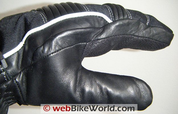 Hein Gericke Pathan Gloves - Thumb and Side View