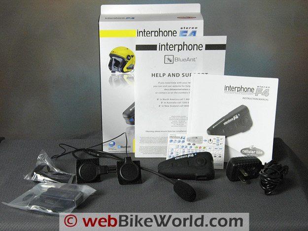 Interphone F4 Intercom - Kit Components