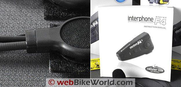 Interphone F4 Intercom Speaker and Instruction Manual