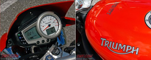 Triumph Speed Triple Details