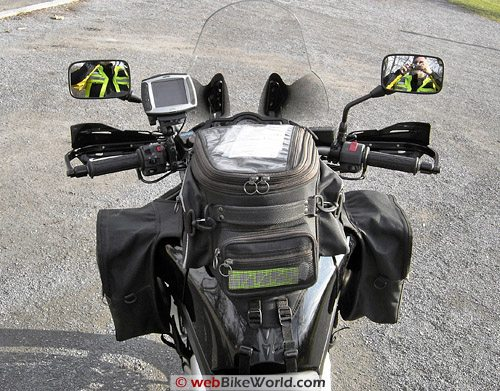 Zeta Handguards - Rear View