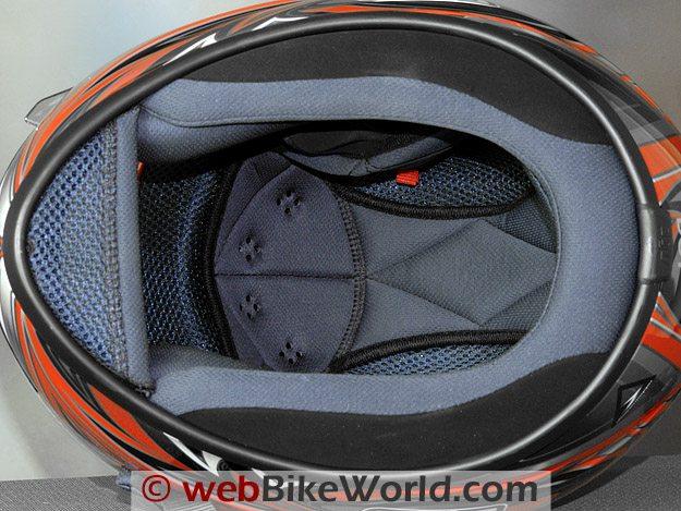 AGV K3 Helmet Liner