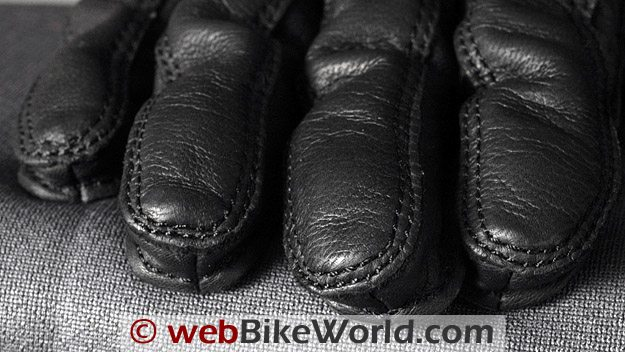 Halvarssons Safety Grip Motorcycle Gloves - Fingertips