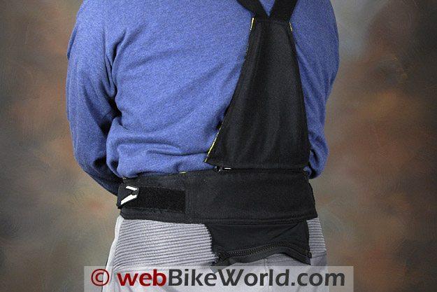 Joe Rocket Nano Pants - Rear Suspender Panel