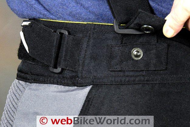 Joe Rocket Nano Pants Suspender Snap