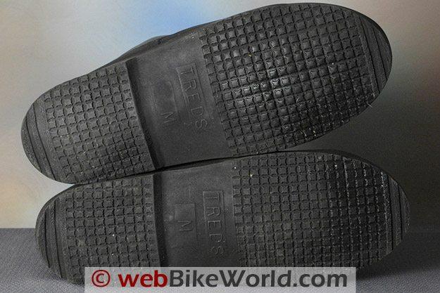 Treds Waterproof Motorcycle Rain Boots - Soles