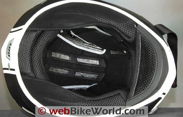2010 Bell Star Helmet - Liner