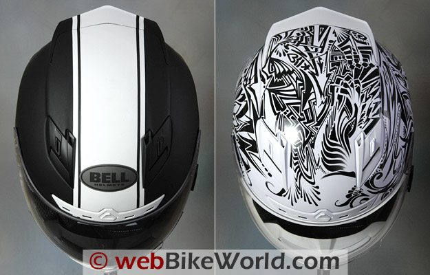 2010 Bell Star Helmet - Top View