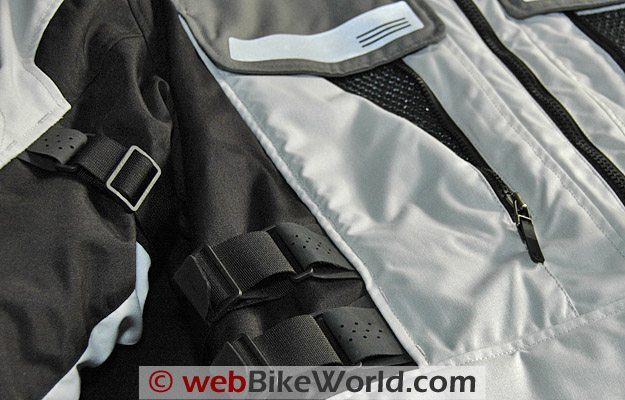REV'IT! Sand Jacket - Side and Arm Adjusters