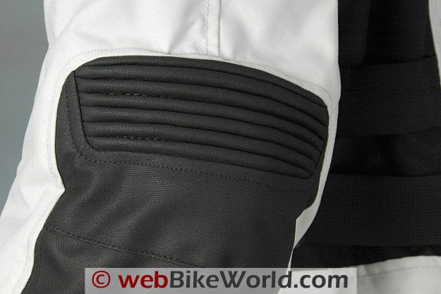Accordion Pleated Fabric Used in Elbow