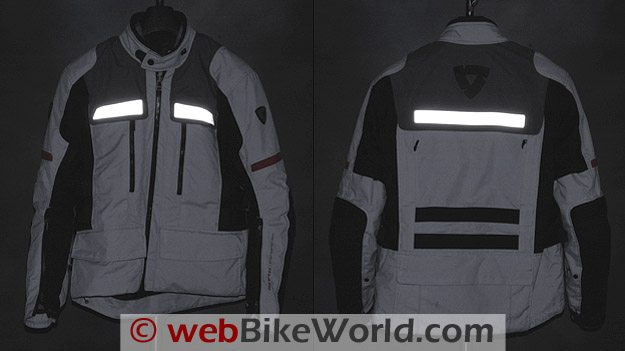REV'IT! Sand Jacket - Reflective Material