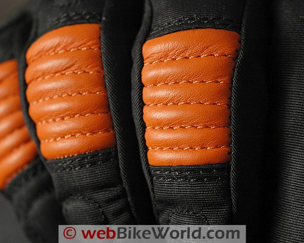 Roadgear H2O Maxx Motorcycle Gloves - Knuckle Close-up