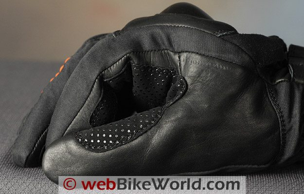 Roadgear H2O Maxx Motorcycle Gloves - Thumb Close-up