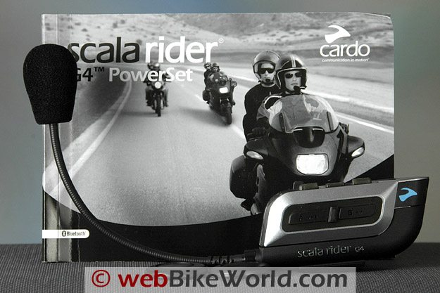 Scala Rider G4 Intercom - Owner's Manual