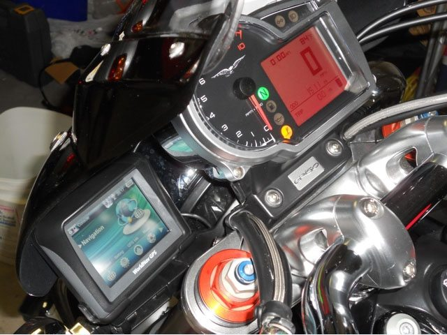 WorldNav 3500 Givi A7700 Bracket