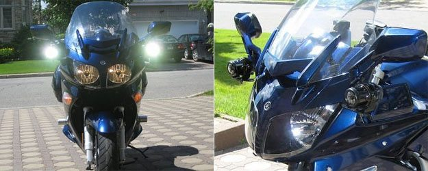 HID Lights on Motorcycle