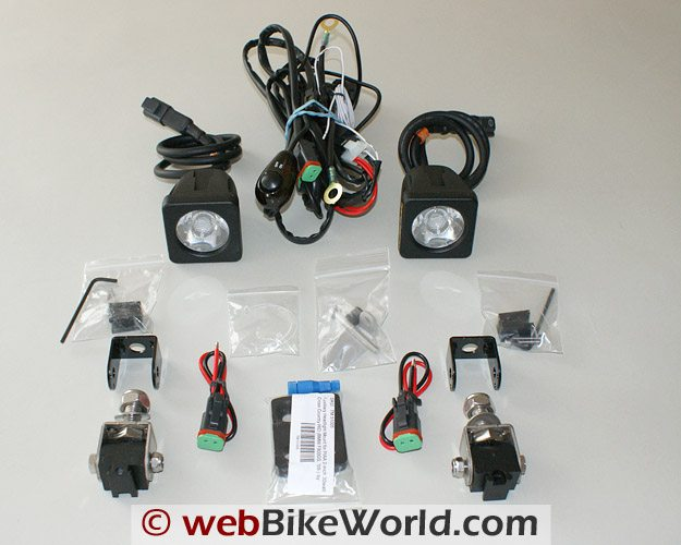 Parts Included in Denali LED Lights Box