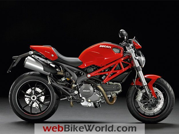 Ducati Monster 796 Red