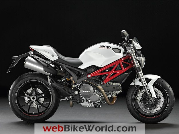 Ducati Monster 796 White