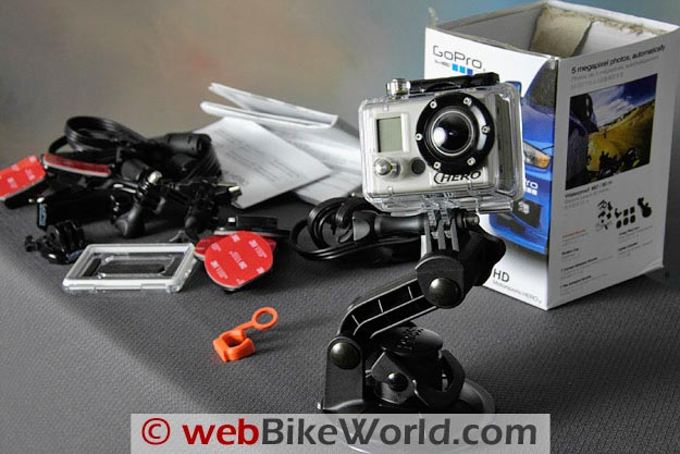 Parts Provided With the GoPro HD Camera