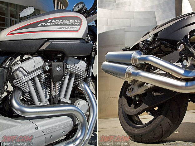 Harley-Davidson XR12000 - Engine and Exhaust