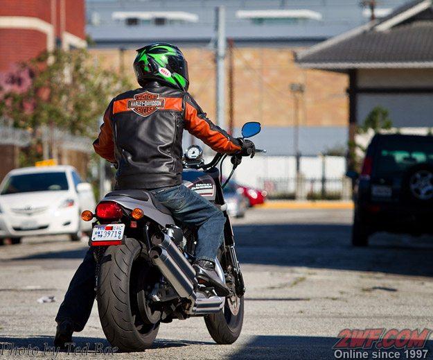 Harley-Davidson XR12000 Rear