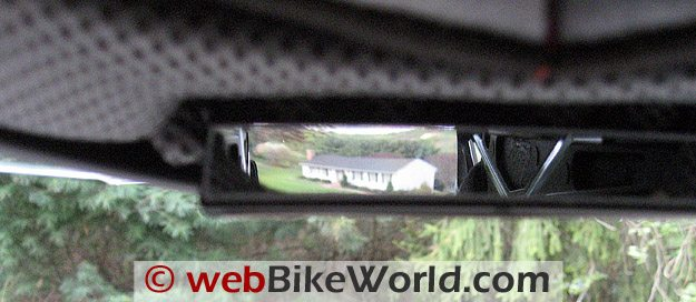 Reevu MSX1 Rear View Mirror Helmet - Internal View