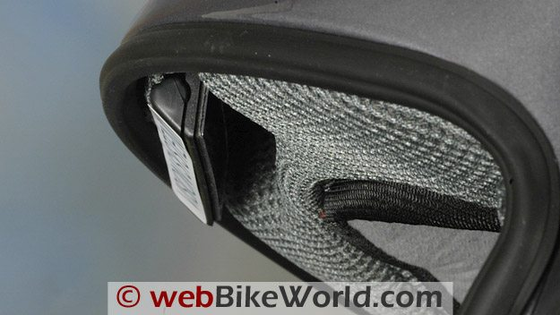 Reevu MSX1 Rear View Mirror Helmet - Side View