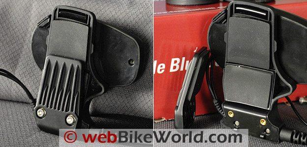 Motorcycle Helmet Mount for the Sena SMH10 Motorcycle Bluetooth Intercom