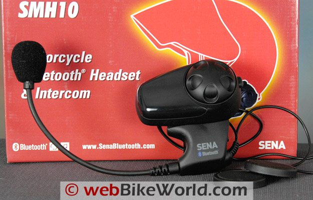 Sena SMH10 Motorcycle Bluetooth Intercom - Box