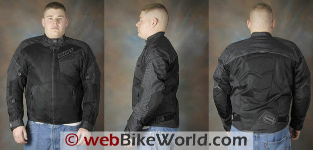 Shift Trifecta Jacket - Front, Side and Rear Views