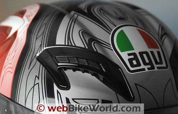 AGV T-2 - Top Vents