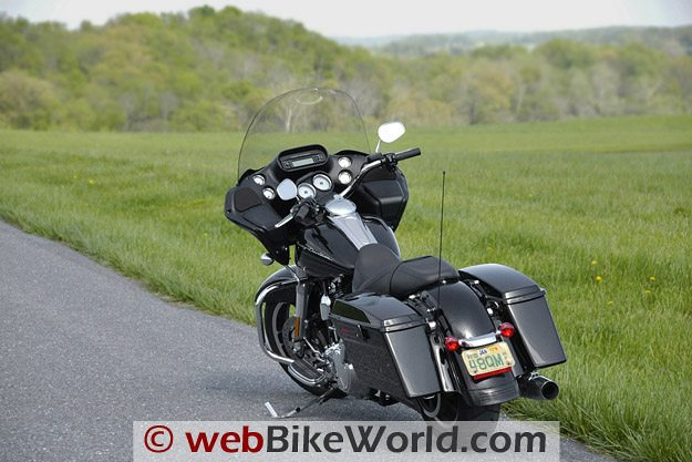 Harley-Davidson Road Glide Custom - Rear View
