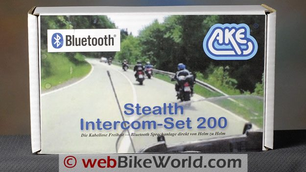 "AKE ""Stealth"" Bluetooth Intercom 200 Box"