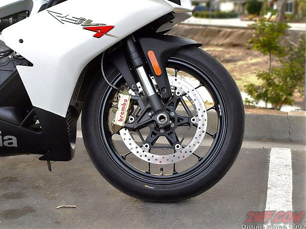 Aprilia RSV4R - Front Wheel and Brakes