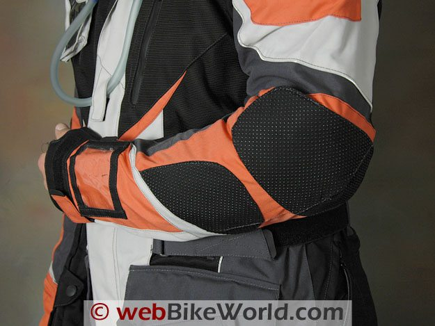 British Motorcycle Gear Adventure Jacket - Elbow Protection
