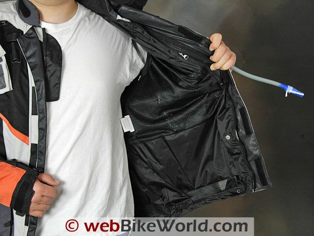 British Motorcycle Gear Adventure Jacket - Lining