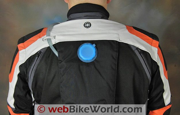 British Motorcycle Gear Adventure Jacket - Removable Hydration Pack