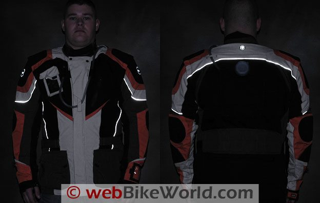 British Motorcycle Gear Adventure Jacket - Reflectivity