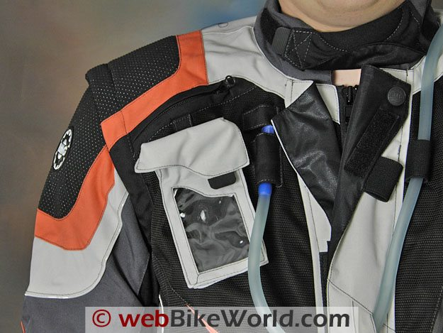 British Motorcycle Gear Adventure Jacket - Cell Phone Pocket