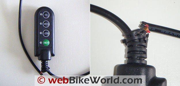 Keis X4 Bodywarmer - Controller