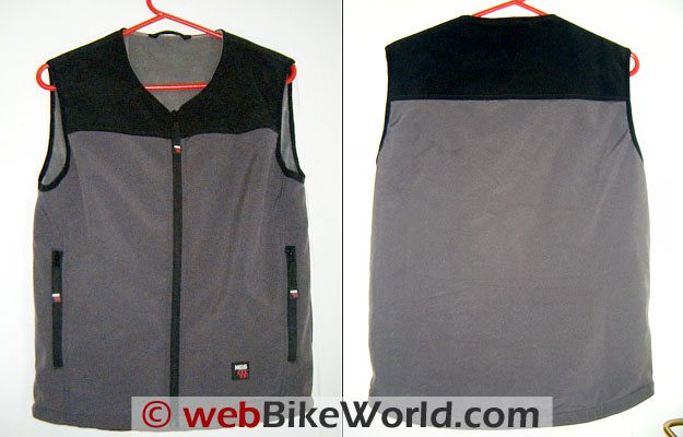 Keis X4 Bodywarmer - Front and Back
