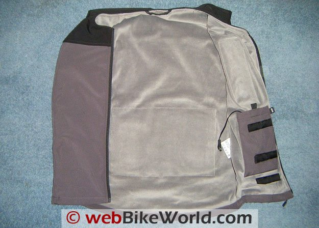 Keis X4 Bodywarmer - Liner and Connection Pocket