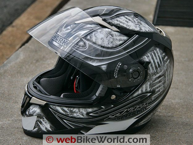 Shark S900 FOST Lumi helmet graphics.