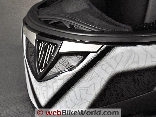 Shark S900 Helmet - Chin Vent