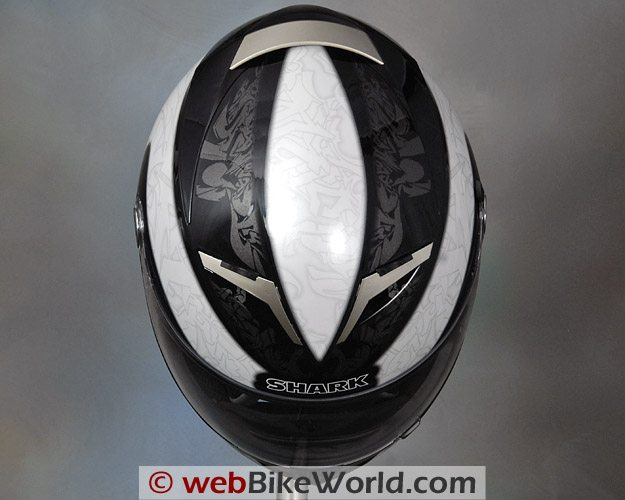 Shark S900 Helmet - Top View